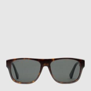 occhiale gucci -quadrati-in-metallo-acetate-sunglasses