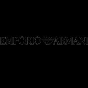 Emporio ARMANI logo ottica rizzieri trasparente