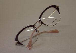 ottica rizzieri occhiale miu miu rosa