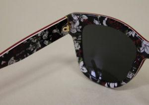 ottica rizzieri occhiali D&G rossi