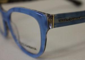 ottica rizzieri occhiali dolce e gabbana blu e montatura