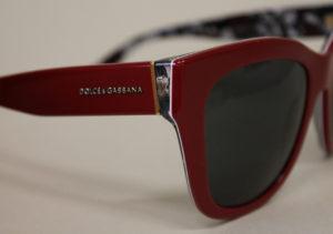ottica rizzieri occhiali dolce e gabbana rossi