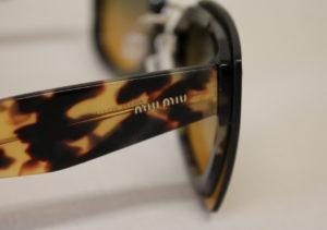 ottica rizzieri occhiali miu miu tigrati