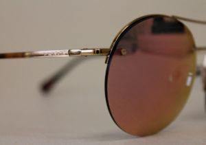 ottica rizzieri occhiali prada lenti rosa montatura oro