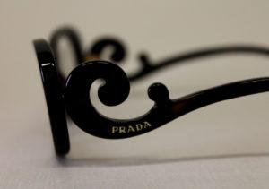 ottica rizzieri occhiali prada nero