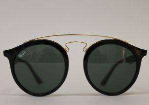 ottica rizzieri occhiali rayban tondi neri oro